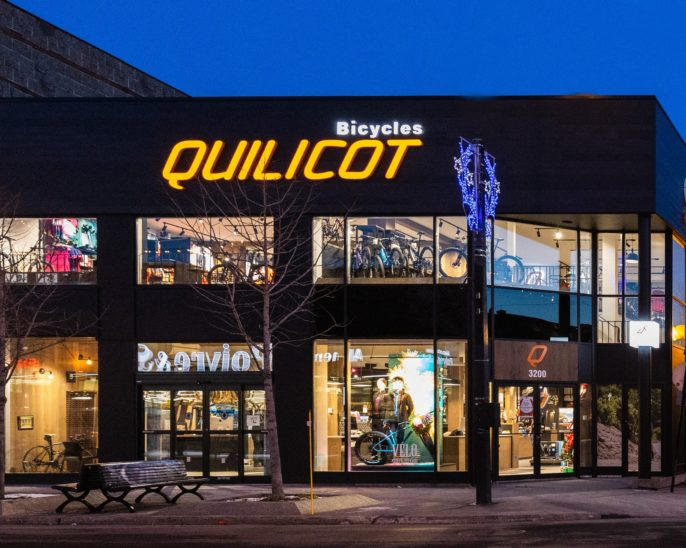 Façade magasin Quilicot
