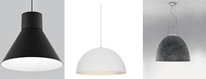 Éclairage décoratif - luminaires suspendus